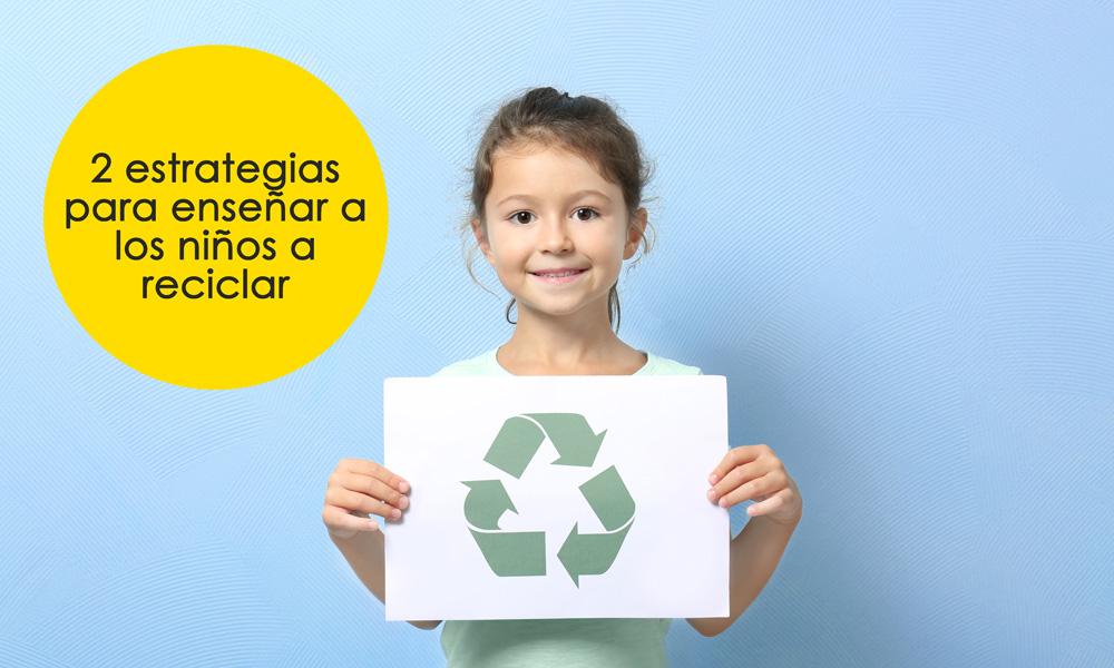Enseñar a reciclar a los niños